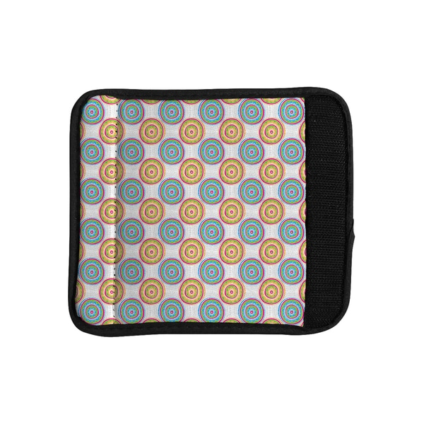 KESS InHouse Apple Kaur Designs 'Bombay Dreams' Blue Green Luggage Handle Wrap