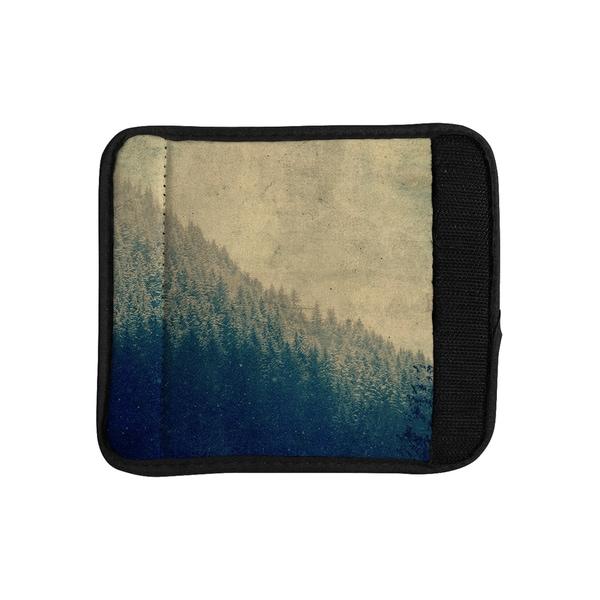 KESS InHouse Robin Dickinson 'Any Road Will Do' Mountain Tree Luggage Handle Wrap