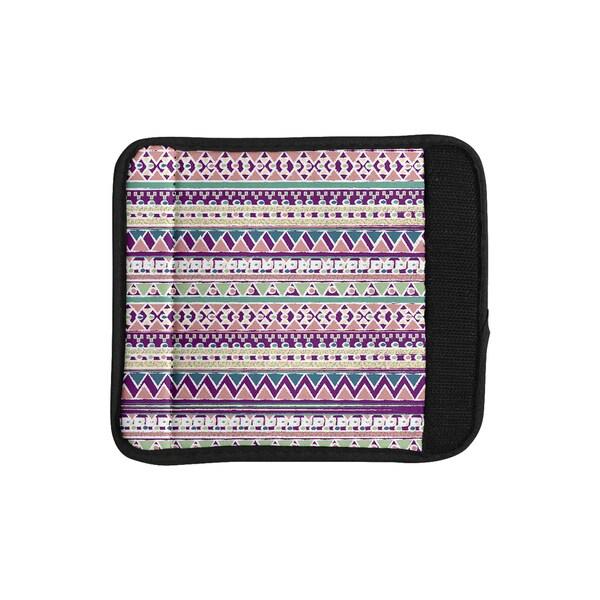 KESS InHouse Nika Martinez 'Boho Ibiza' Pastel Pink Luggage Handle Wrap