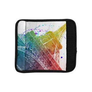 KESS InHouse Nika Martinez 'Paris Je T'aime' Watercolor Luggage Handle Wrap