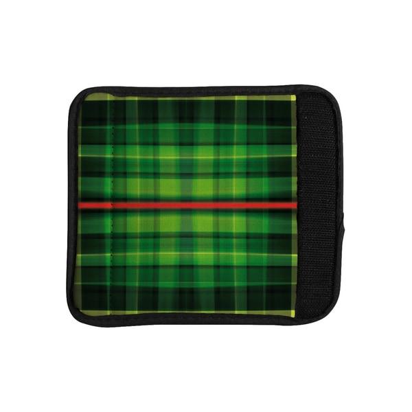 KESS InHouse Matthias Hennig 'Tartan' Luggage Handle Wrap