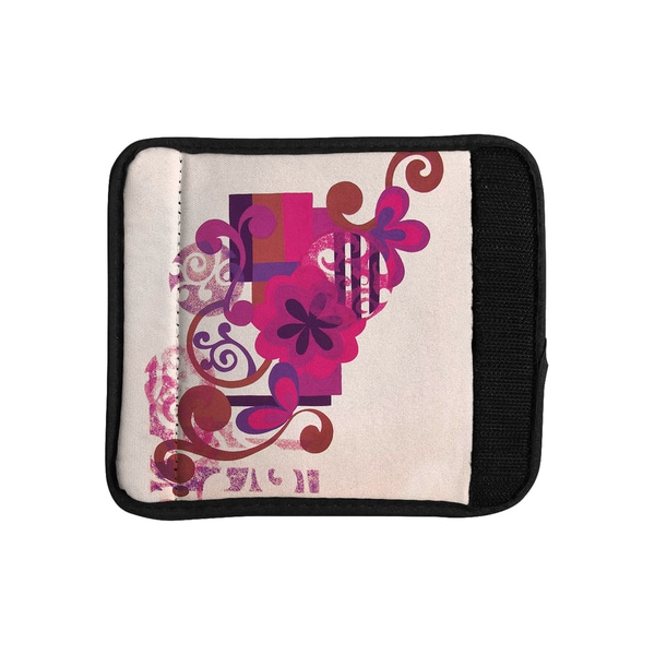 KESS InHouse Louise Machado 'Lilac' Luggage Handle Wrap