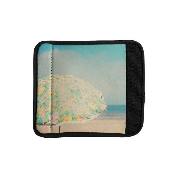 KESS InHouse Laura Evans 'A Summer Afternoon' Blue Teal Luggage Handle Wrap