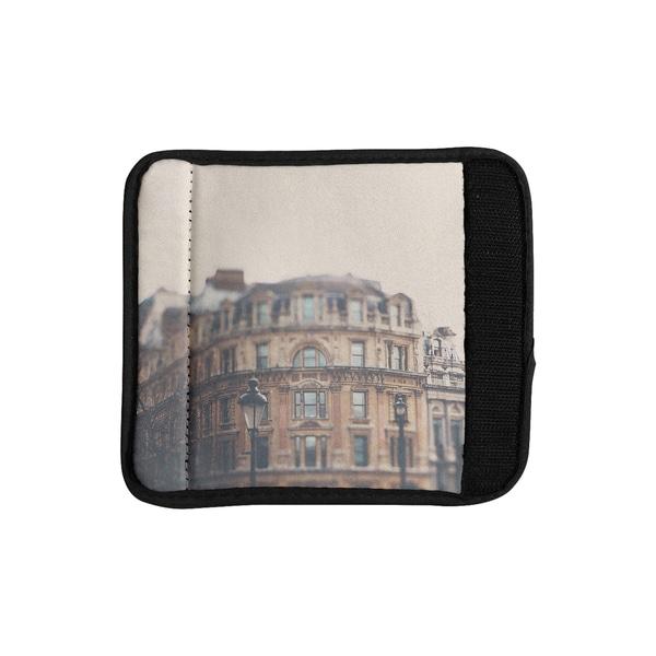 KESS InHouse Laura Evans 'London Town' Brown Luggage Handle Wrap