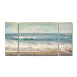 Ready2HangArt 'Beach Memories' by Norman Wyatt Jr. Wrapped Canvas Art