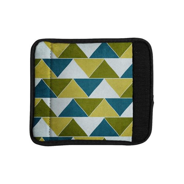 KESS InHouse Catherine McDonald 'Mediterranean' Luggage Handle Wrap