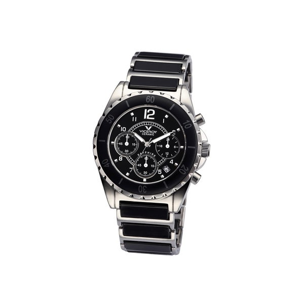 Viceroy Womens 47550-55 Black Ceramic Watch