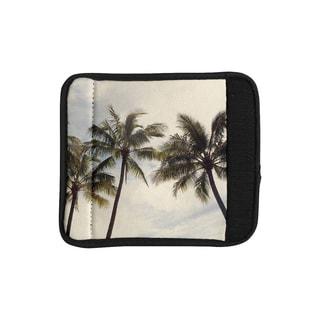KESS InHouse Catherine McDonald 'Boho Palms' Coastal Trees Luggage Handle Wrap