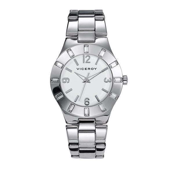 Viceroy Womens 40710-05 Silver Stainless Steel Watch