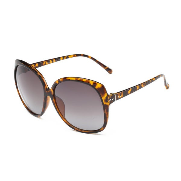 Wayfarer Turtoise Acetate Oval Full-frame Sunglasses