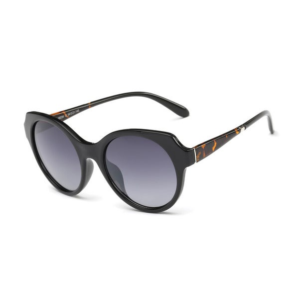 Wayfarer Black Acetate Oval Full-frame Sunglasses