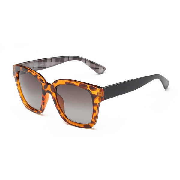Wayfarer Tortoise/Black Acetate Square Sunglasses