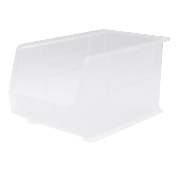 AkroBin Clear Plastic 18 x 11 x 10-inch Storage Bin (Pack of 6)