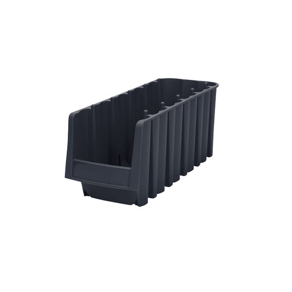 Akro-Mils Plastic 11 7/8 x 8 3/8 x 5-inch Economy Shelf Bin (Pack of 8)