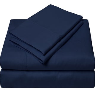 Luxurious Egyptian Cotton 300 Thread Count Full-size Sheet Set