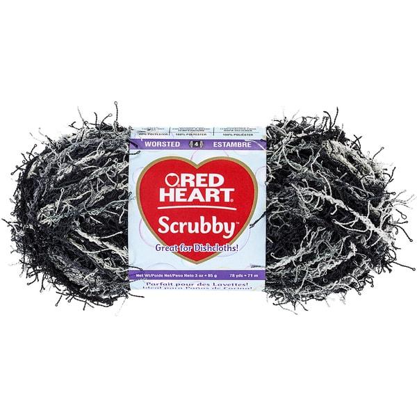 Red Heart Scrubby Yarn