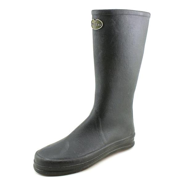 Le Chameau Women's Botte Cabourg Black Rubber Boots