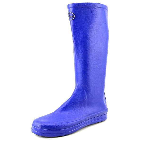 Le Chameau Women's Botte Cabourg Blue Synthetic Boots