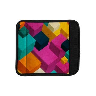 KESS InHouse Danny Ivan 'Happy Cubes' Luggage Handle Wrap