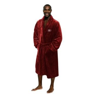 NFL 349 49ers Men's L/XL Bathrobe