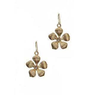 Relic Gold Overlay Earrings