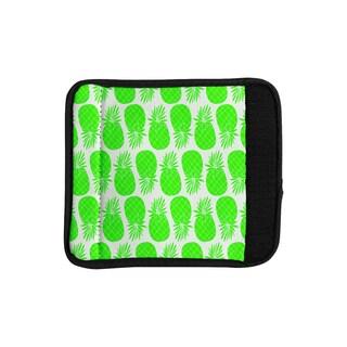 KESS InHouse Anchobee 'Pinya Neon Green' Lime Pattern Luggage Handle Wrap