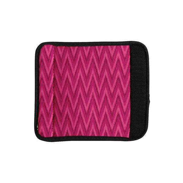 KESS InHouse Amanda Lane 'Berry Pink Chevron' Magenta Purple Luggage Handle Wrap