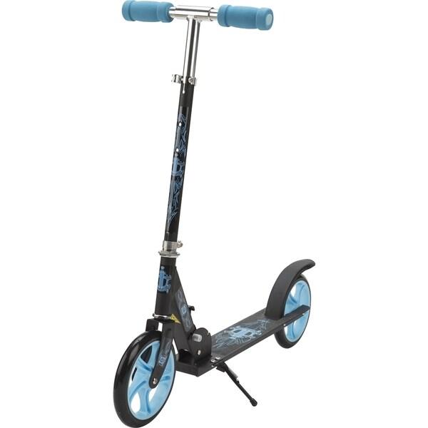 D6 Grande Black Aluminum Scooter
