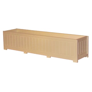 Eagle One Catalina 48-inch x 12-inch Greenwood Commercial-grade Planter Box
