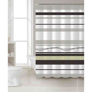 VCNY Karma 100-percent Cotton Shower Curtain