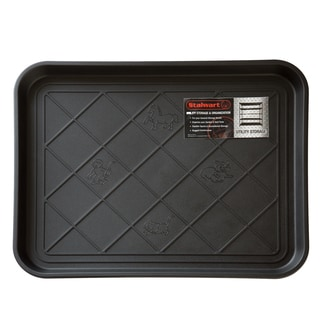 Stalwart 20 x 15-inch Black Eco Friendly Utility Boot Tray Mat