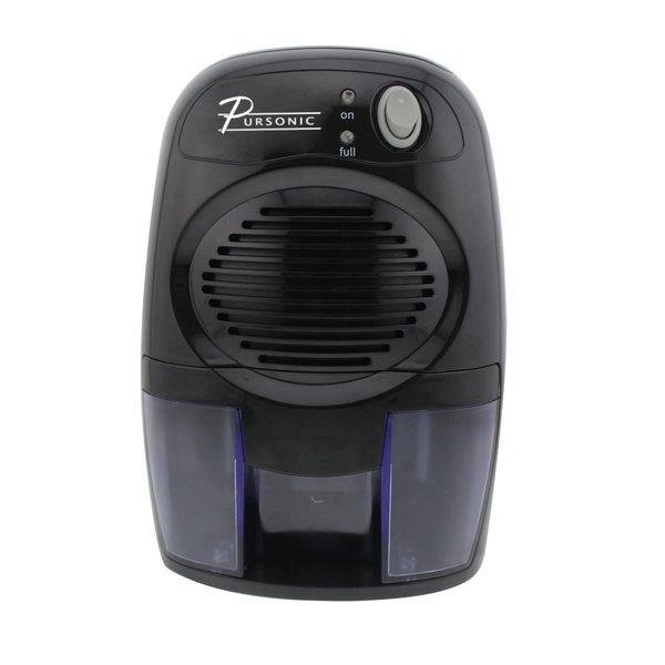 Pursonic DHM-200 Black Mini-capacity Electric Compact Dehumidifier