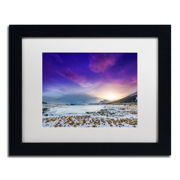 Philippe Sainte-Laudy 'Almost There' Matted Framed Art