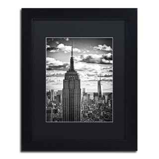 Philippe Hugonnard 'New York Skyscrapers' Matted Framed Art