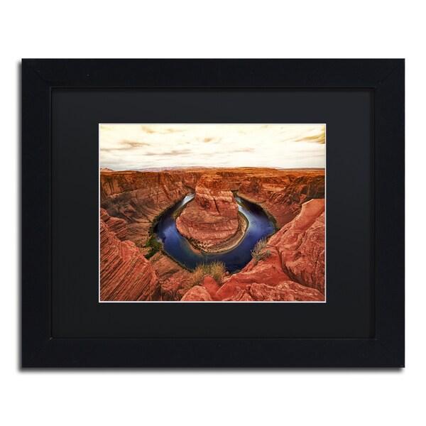 Philippe Hugonnard 'Lake Powell' Matted Framed Art
