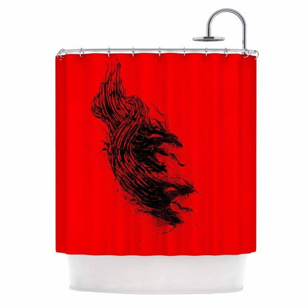 KESS InHouse BarmalisiRTB 'Came From Hell' Shower Curtain (69x70)