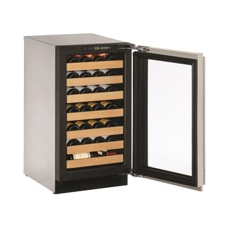 U-Line 2000 Series 2218WC 18-inch Stainless Wine Captain