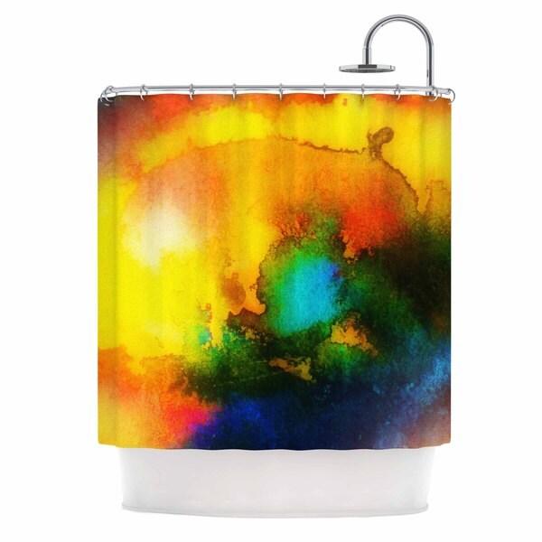 KESS InHouse No 'Good Vibrations' Shower Curtain (69x70)