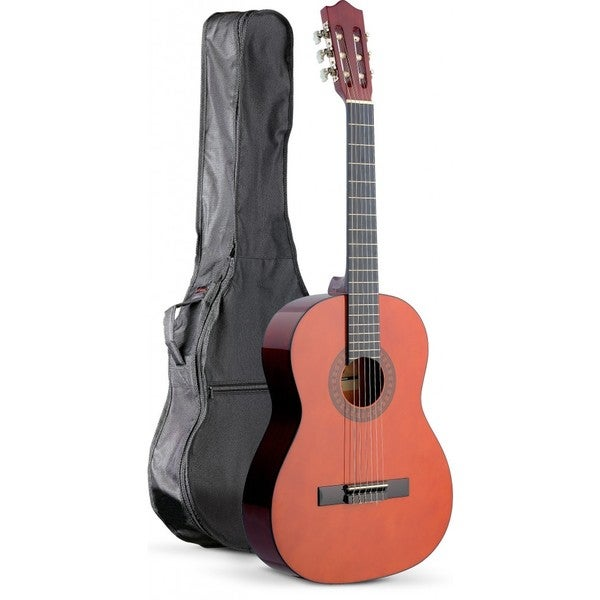 Stagg C542 Brown Classical Guitar Pack With Nylon Gig Bag
