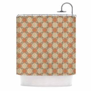 KESS InHouse Mayacoa Studio 'Geometric Tile' Shower Curtain (69x70)