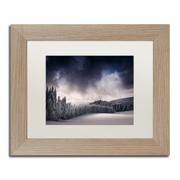 Philippe Sainte-Laudy 'Blowin' In The Wind' Matted Framed Art