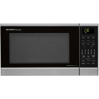 Sharp Carousel Stainless Steel Countertop Convection Microwave Oven