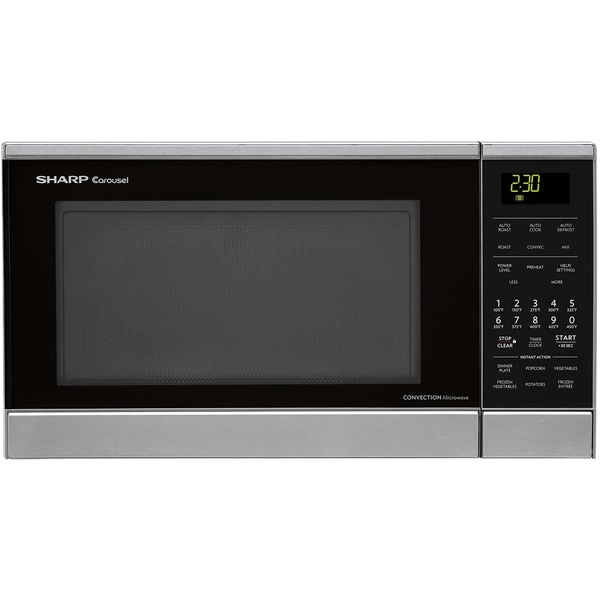 Countertop Microwave Ovens With Stainless Steel Interior : -Countertop-Convection-Microwave-Oven-with-Stainless-Steel-Interior ...