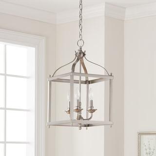 Kichler Lighting Larkin Collection 3-light Brushed Nickel Pendant
