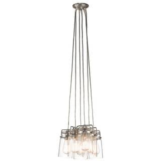 Kichler Lighting Brinley Collection 6-light Brushed Nickel Pendant