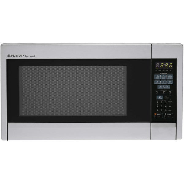 Sharp Carousel Stainless Steel Countertop Microwave Oven
