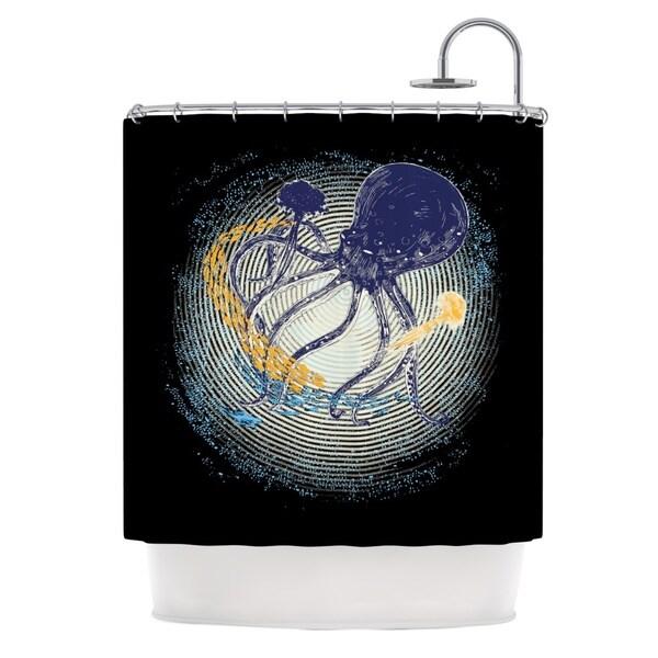 KESS InHouse Frederic Levy-Hadida 'Tentacular Trap' Shower Curtain (69x70)
