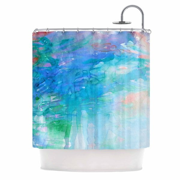 KESS InHouse Ebi Emporium 'Childlike Wonder' Shower Curtain (69x70)