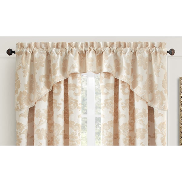 Croscill Cream Adrianna Window Valance