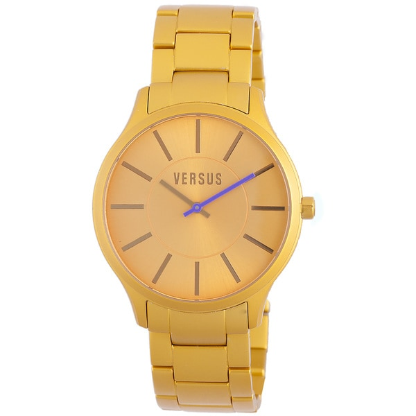 Versus Men's Alumini Gold Watch